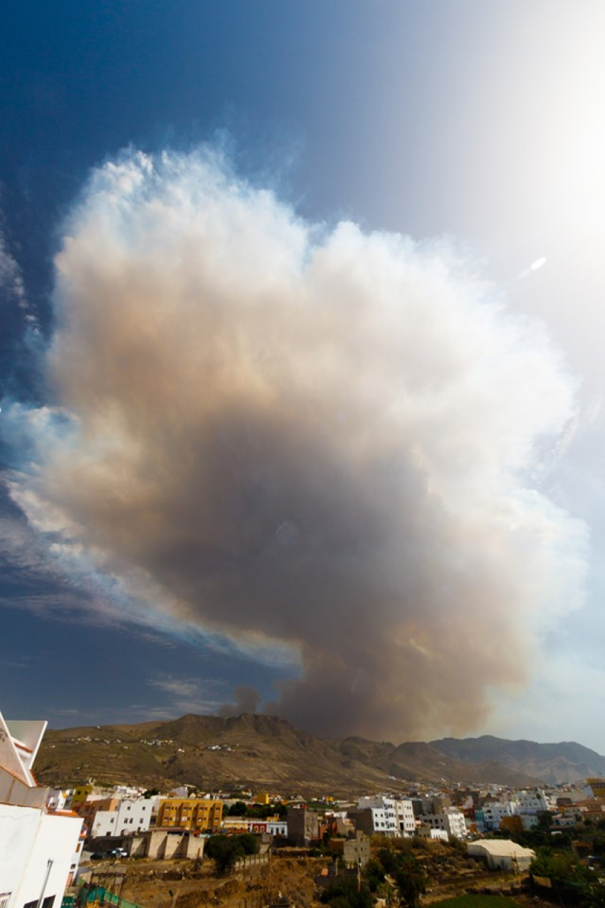 Forest fires in Gran Canaria: Information and advice