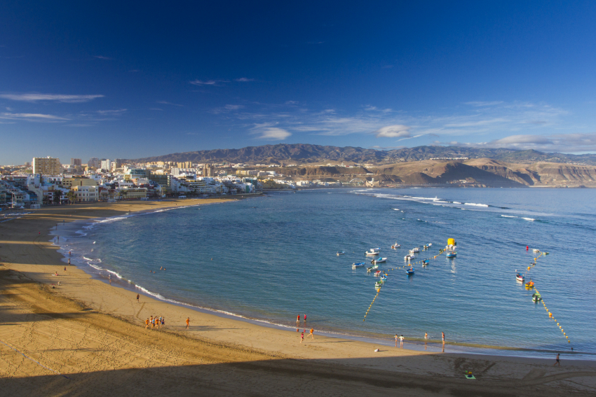 Mixed weather conditions over the Easter week in Gran Canaria