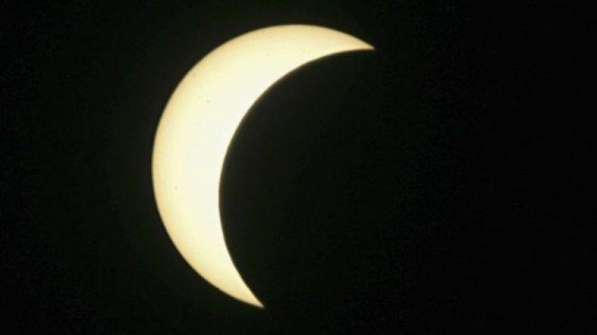 Solar eclipse in Gran Canaria