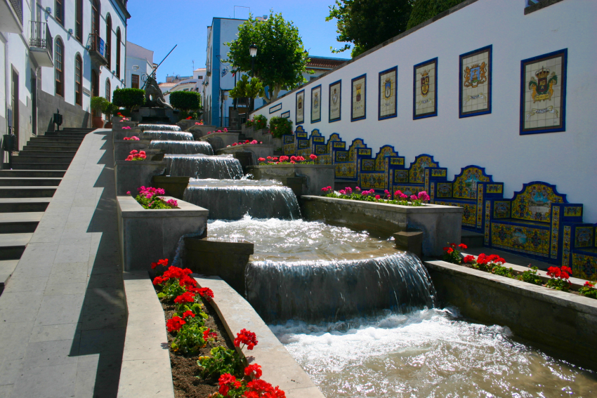 Firgas: Gran Canaria's water town is a popular day trip stop in north Gran Canaria