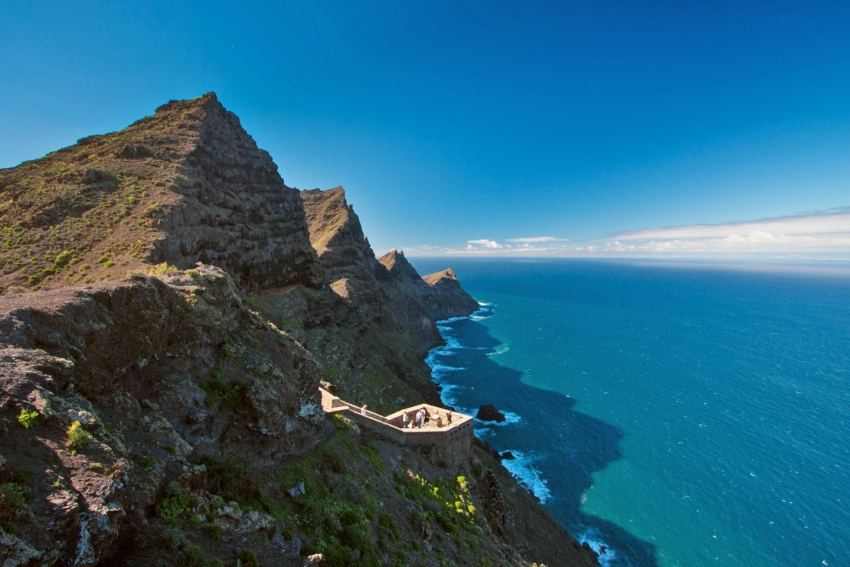 The Mirador El Balcón in west Gran Canaria