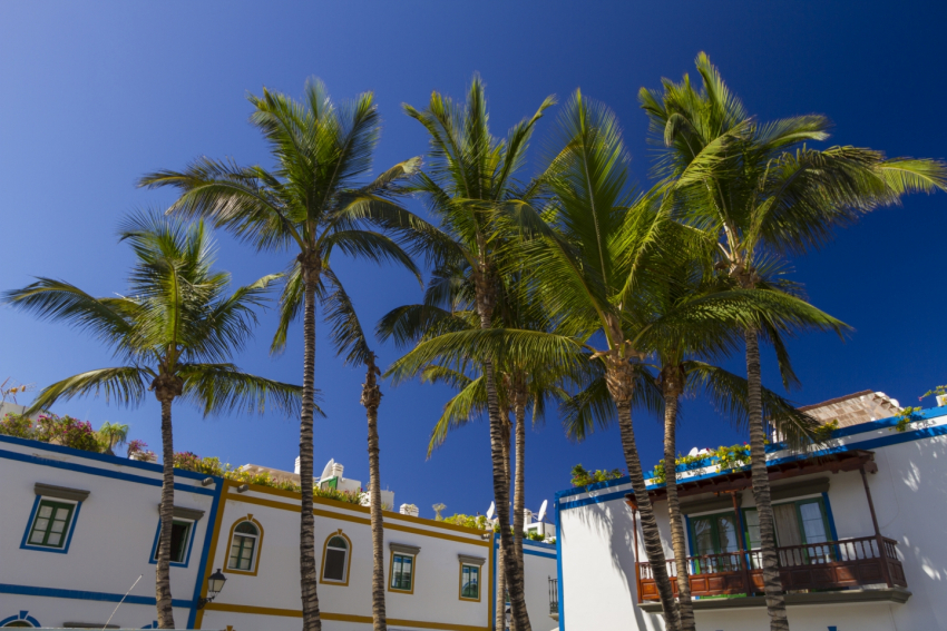 Sunshine forecast in south Gran Canaria this weekend