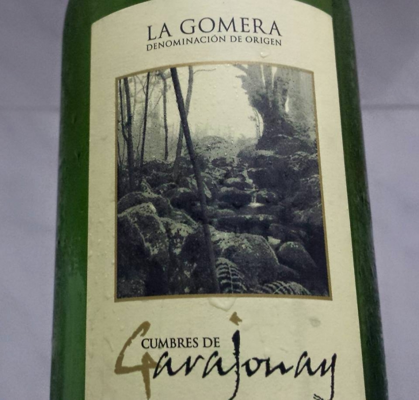 Cumbres e Garajonay white wine from La Gomera