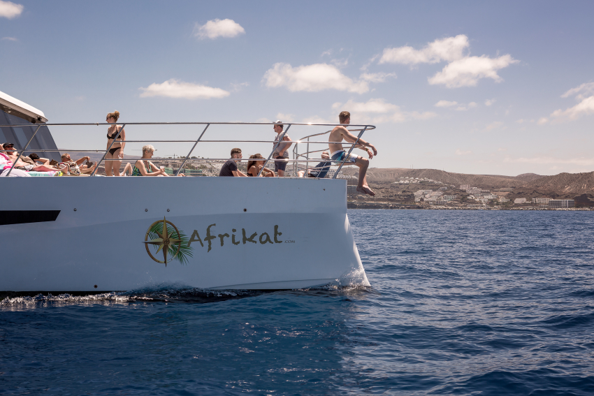 The Afrikat morning cruise is a top Gran Canaria experience recommended by Gran Canaria Info