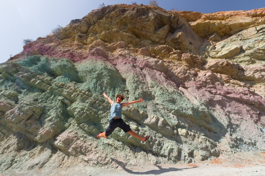 Gran Canaria's 13 Million Year Old Psychedelic Rocks