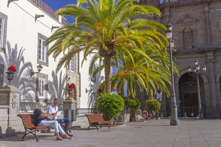 Old Town Vegueta is Las Palmas' original district