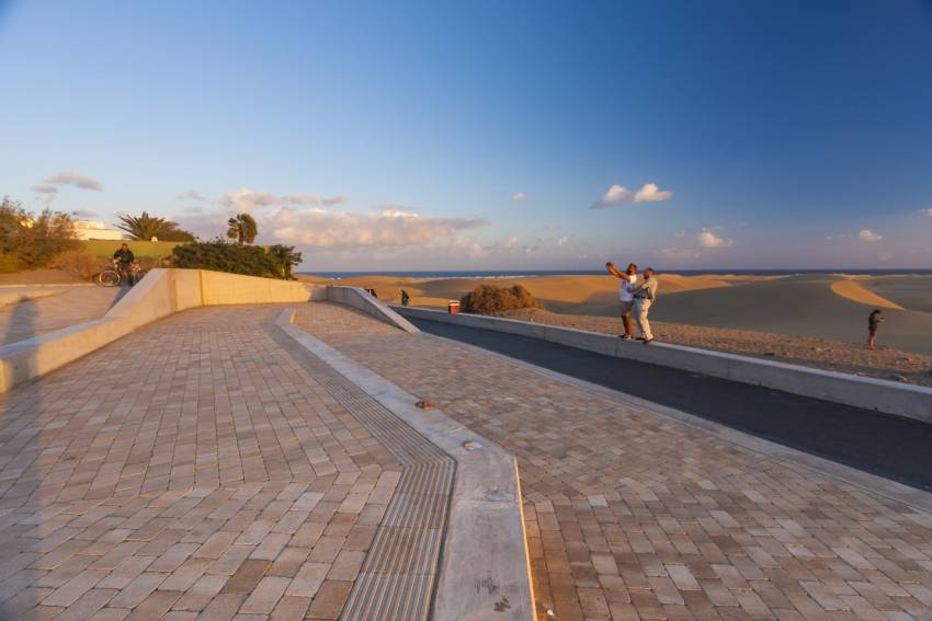 The new Maspalomas dunes mirador in Playa del Inglés