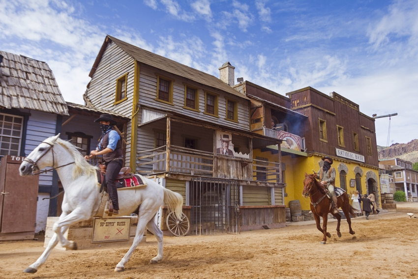 Sioux City Wild West theme park in Gran Canaria
