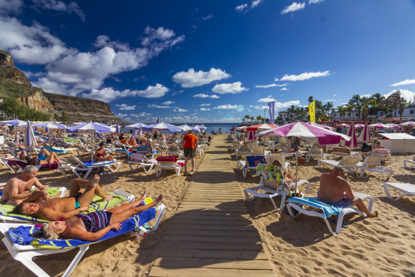 This week in Gran Canaria will be warm and mostly sunny