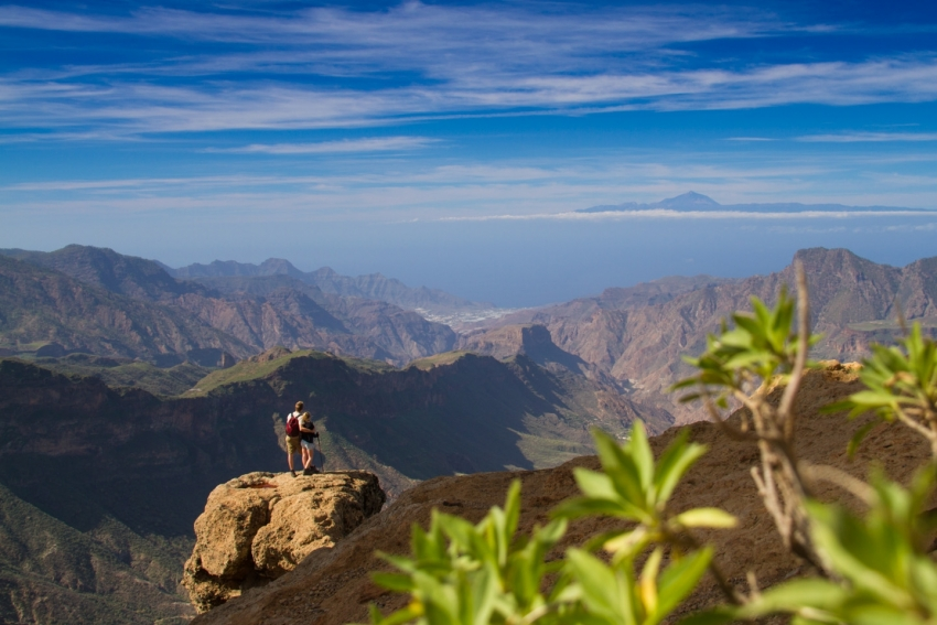 Walking in the Gran Canaria highlands