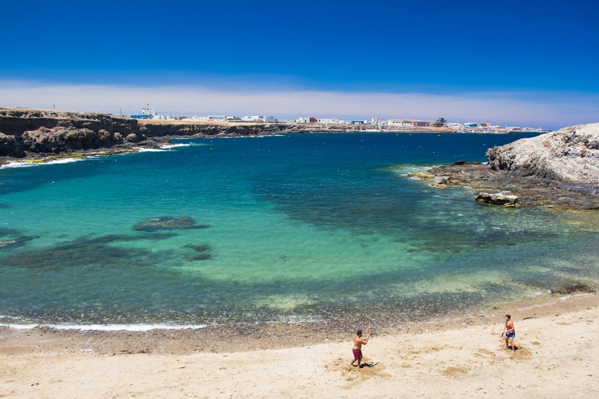 Golden Aguadulce beach is the star of Gran Canaria's east coast
