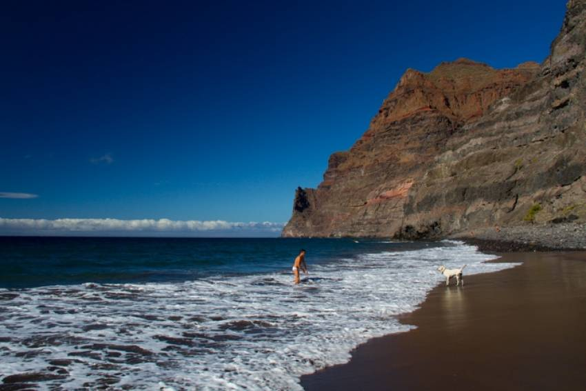 Güigüi beach in west Gran Canaria