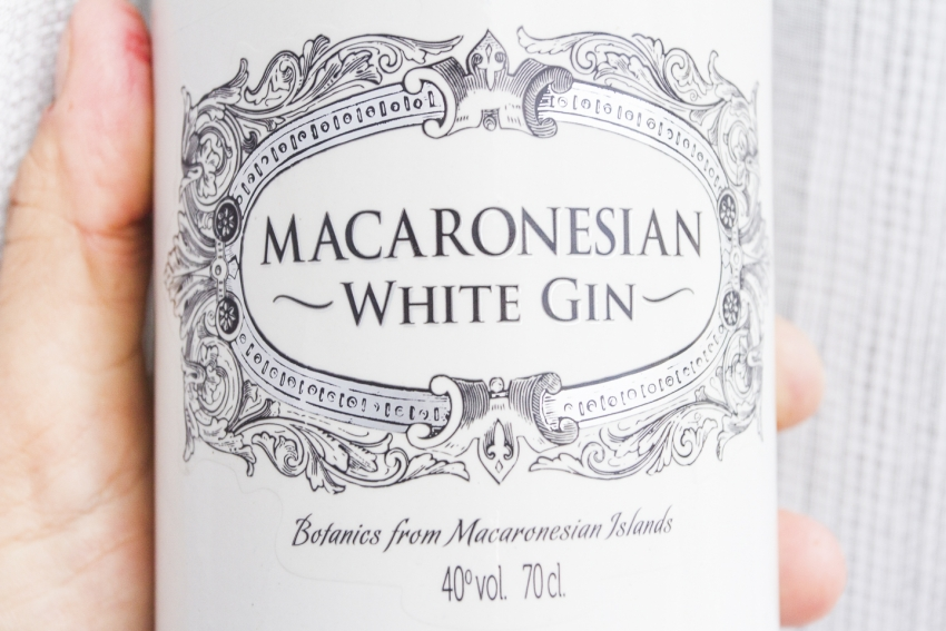 Macaronesian gin distilled in the Canary Islands with local botanicals