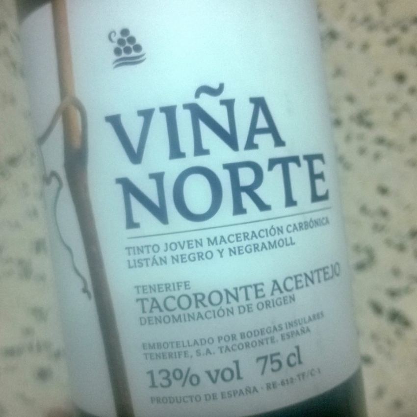 Viña Norte's award-winning carbonic maceration wine