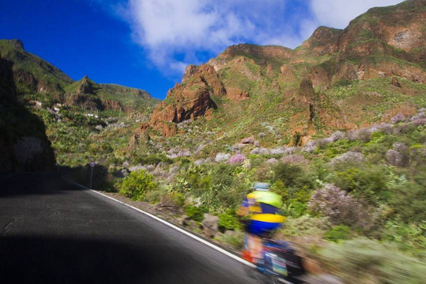 Gran Canaria is Europe's top winter cycling destination