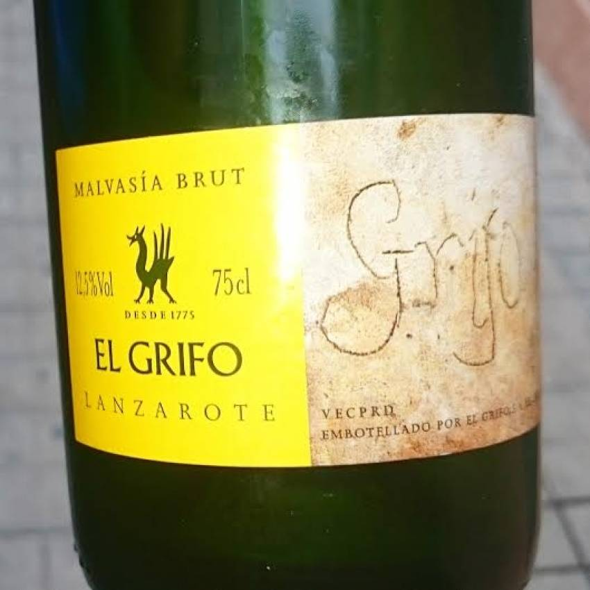 Lanzarote's Brut Malvasia fizz is excellent
