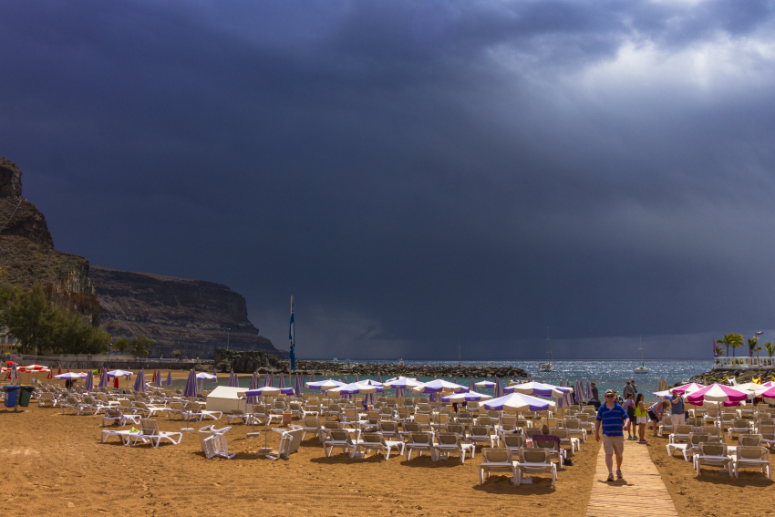 The Canary Islands are getting drier but stormier