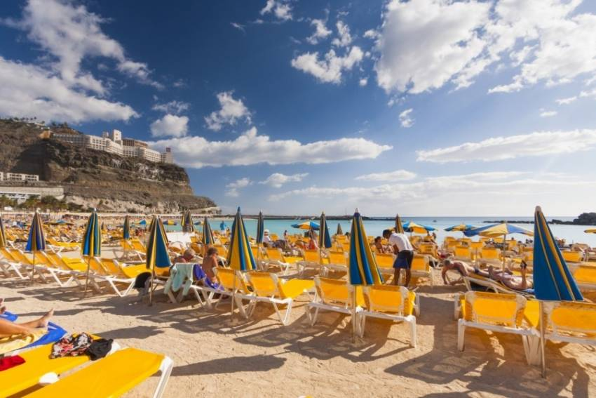 South west Gran Canaria gets almost permanent sunshine
