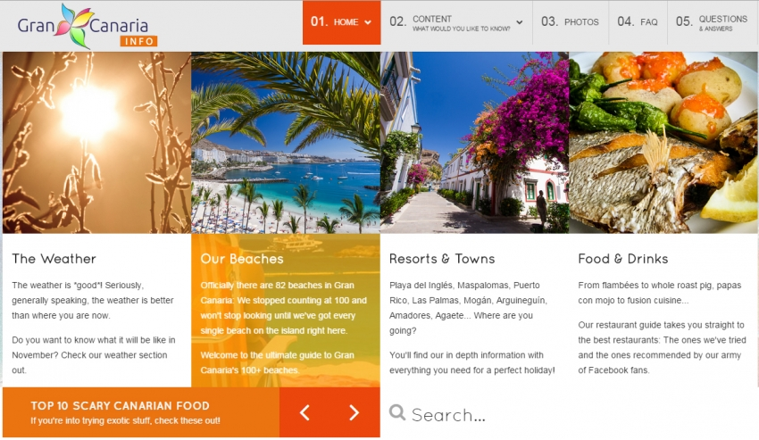 The best online Gran Canaria resources