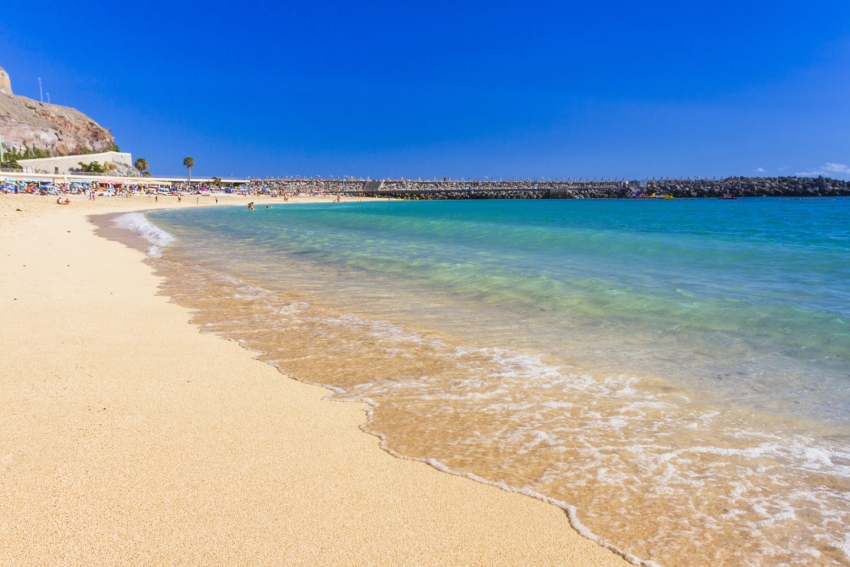 Perfect beach weather this weekend in Gran Canaria