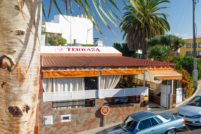 Terraza El Patio Restaurant close to Arucas in north Gran Canaria