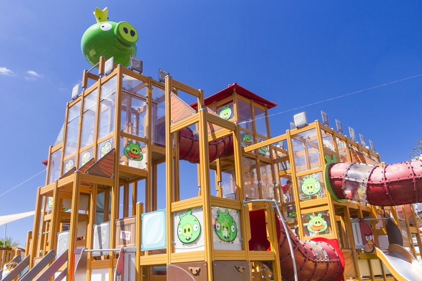Puerto Rico's Angry Birds park is great for little kids