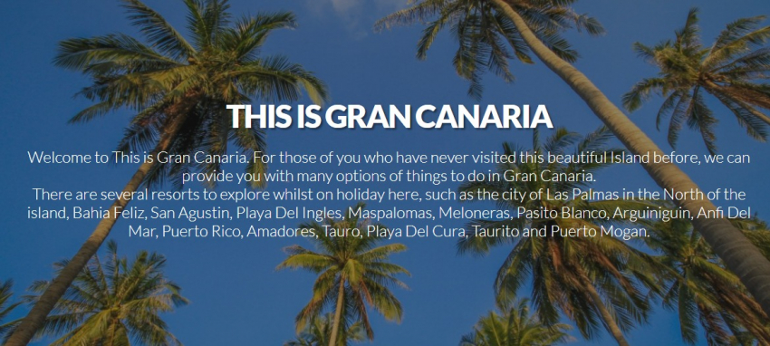 This Is Gran Canaria: The Island's Best Online Booking Website