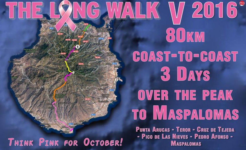 The Long Walk: Join Gran Canaria's Big Charity Walk