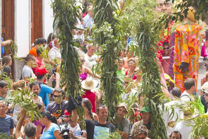 La Rama in Agaete is amongst the top Gran Canaria fiestas