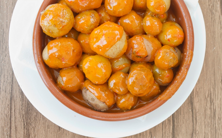 Papas con mojo wins Spanish food contest