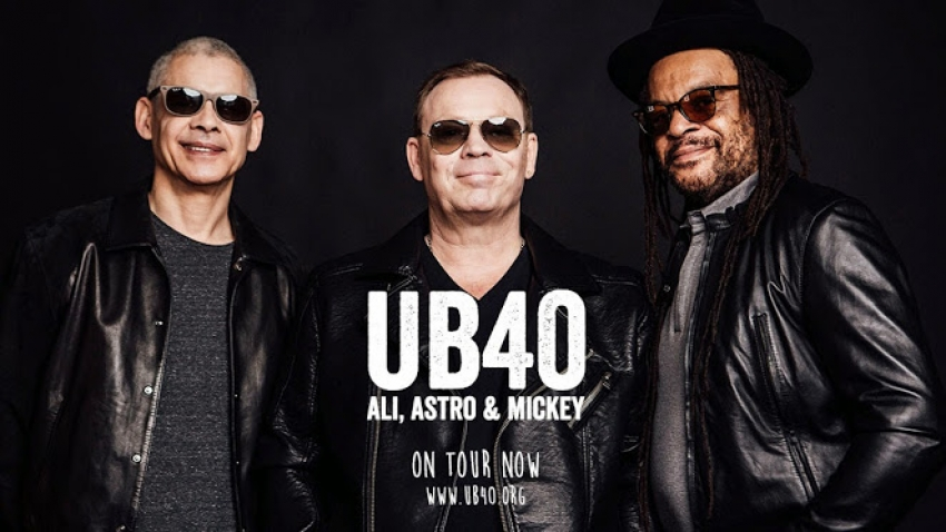 UB40 Gran Canaria Concert On March 19