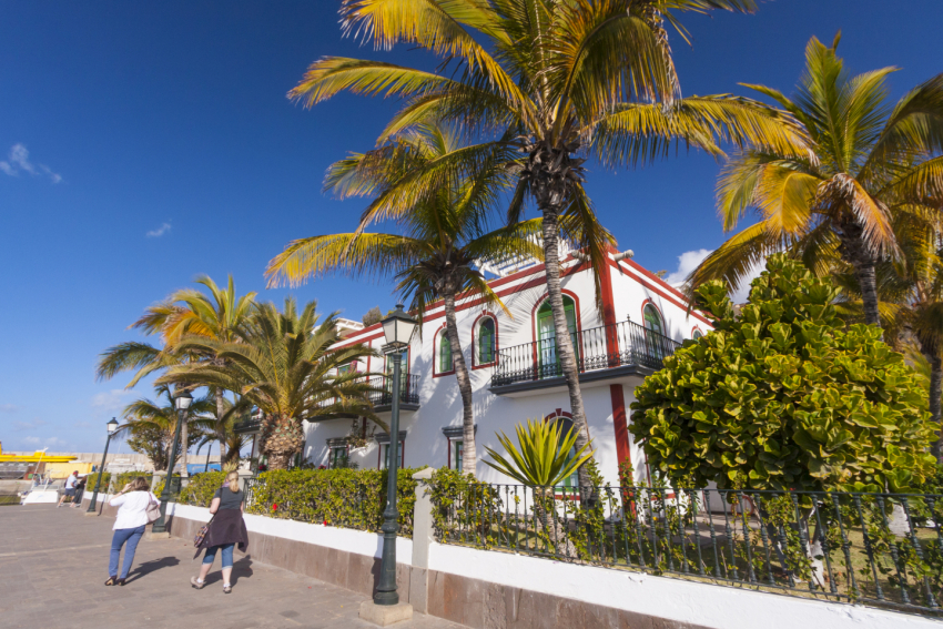 It is sunny in south Gran Canaria almost every single day of the year