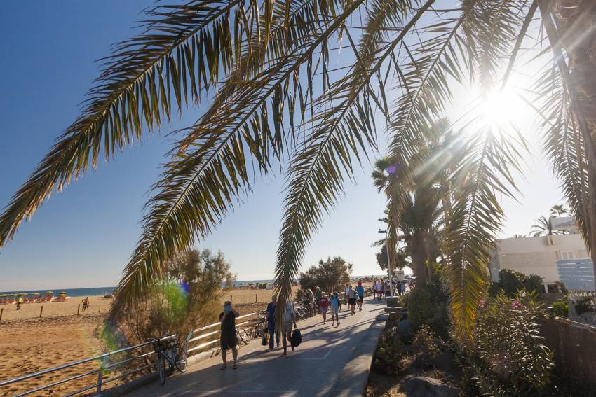 Walk around Maspalomas to get your bearings