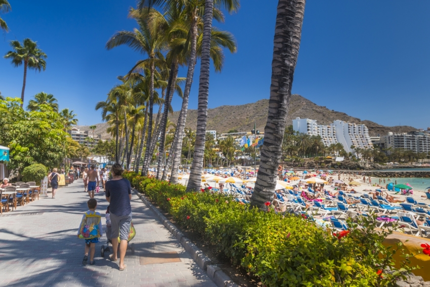 Sunshine forecast this week in Gran Canaria