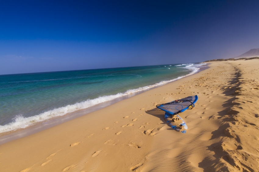 One of the 500 beaches in the Canary Islands