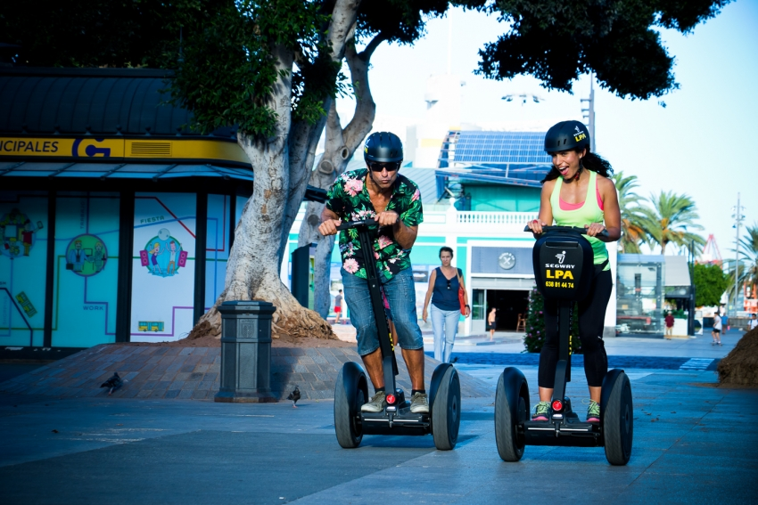 Explore Las Palmas Without Breaking A Sweat With A Zippy Segway Tour