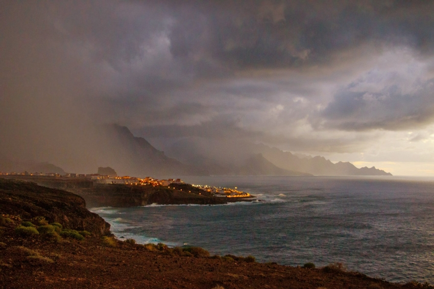 The October 20 rain storm in north Gran Canaria