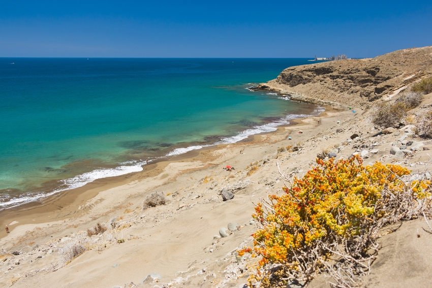 Montaña de Arena beach is in the top ten nudist Gran Canaria beaches