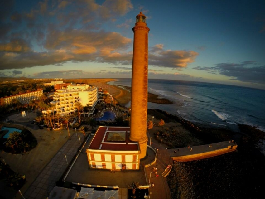 The Maspalomas lighthouse