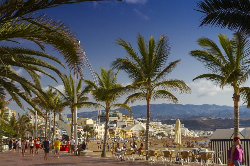 Las Canteras Beach Amongst Spain's Top Ten